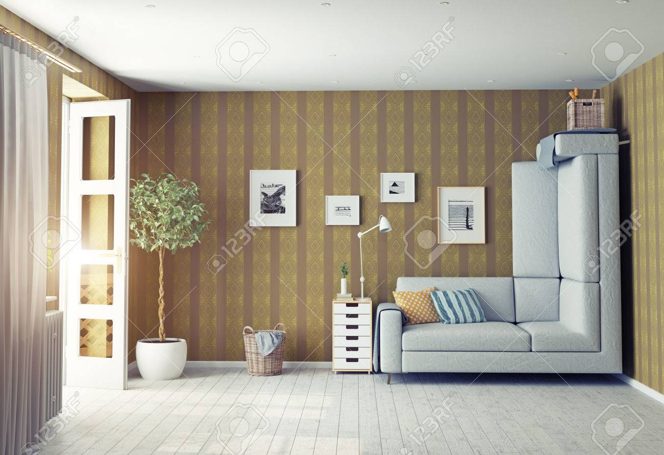 Marvelous Strange Living Room Interior 3D Design Concept Download Free Architecture Designs Grimeyleaguecom