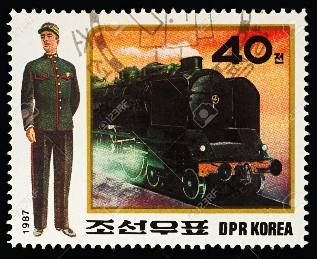 モスクワ、ロシア - 2018年2月16日:朝鮮民主主義人民共和国(北朝鮮)に ...