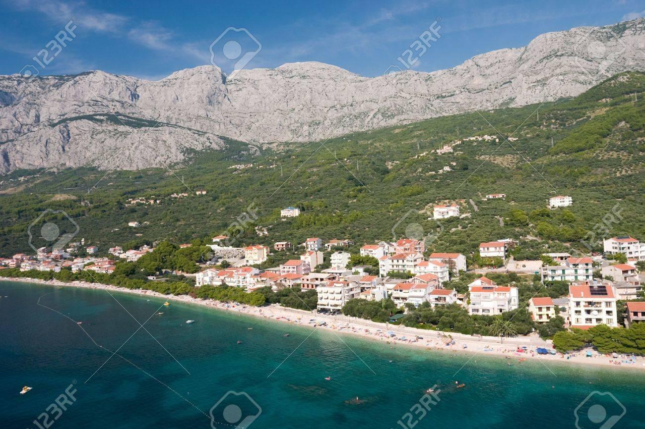 Croatian holiday town Tucepi - 2397243