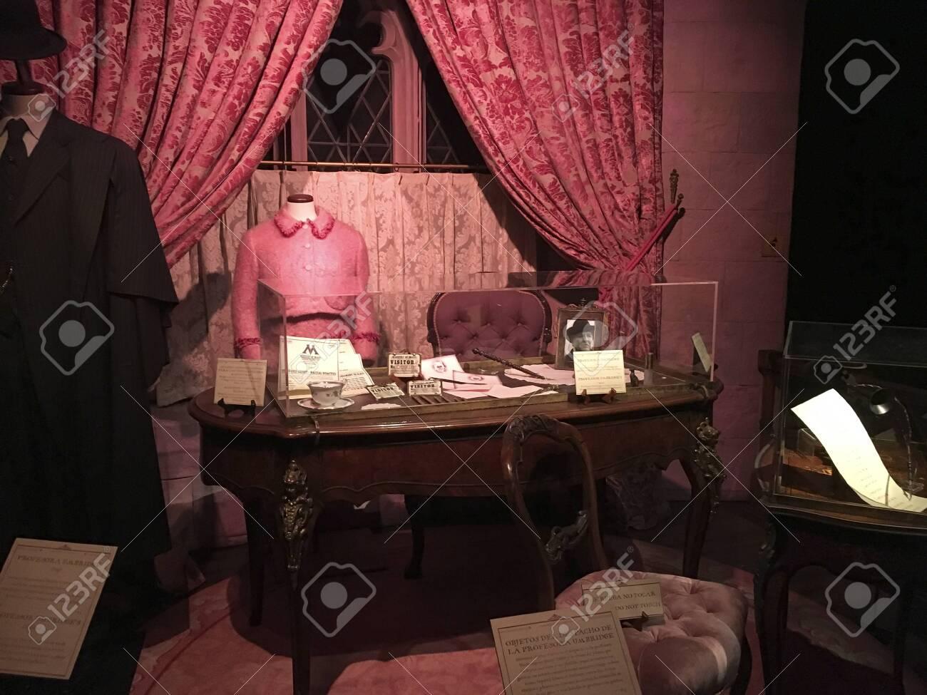Madrid, Spain; November 26, 2017; Exhibition of original Harry Potter material at Ifema, Pavilion 1. - 132893806