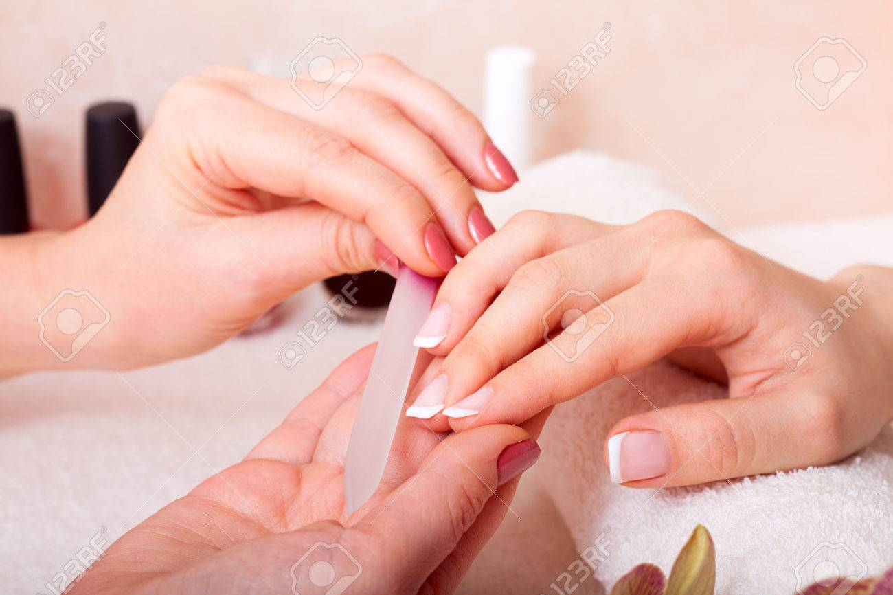 body care and manicure