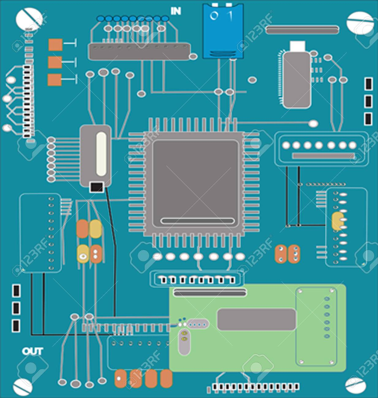 Computer Chip Circuit Diagram - Trusted Wiring Diagram