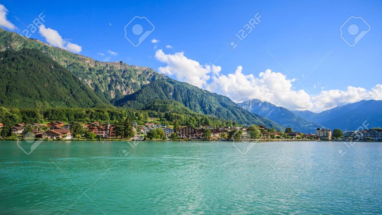 ブリエンツ湖 (Brienzersee) 堤...