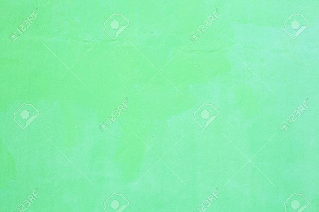 Freshly Painted Light Green Colored Plain Seamless Grunge Textured