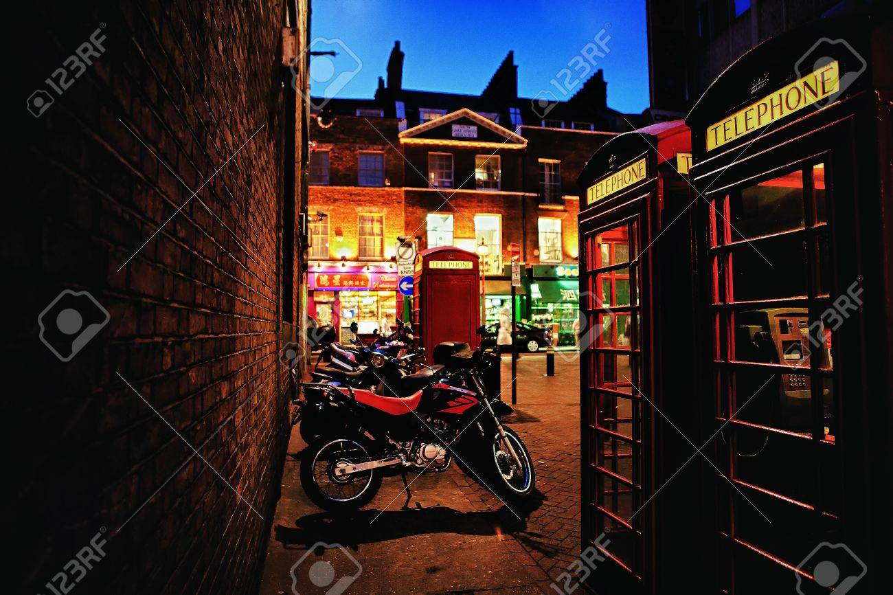 Chinatown in London on the evening Stock Photo - 14288928