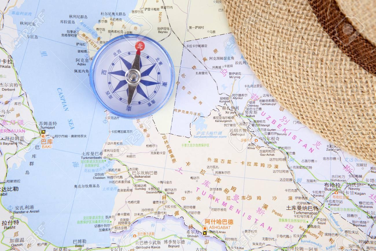 中央 アジア 地図