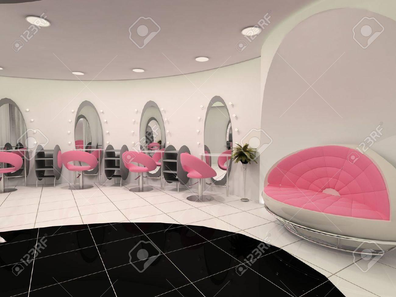 Interior of Professional beauty salon Stock Photo - 10300735