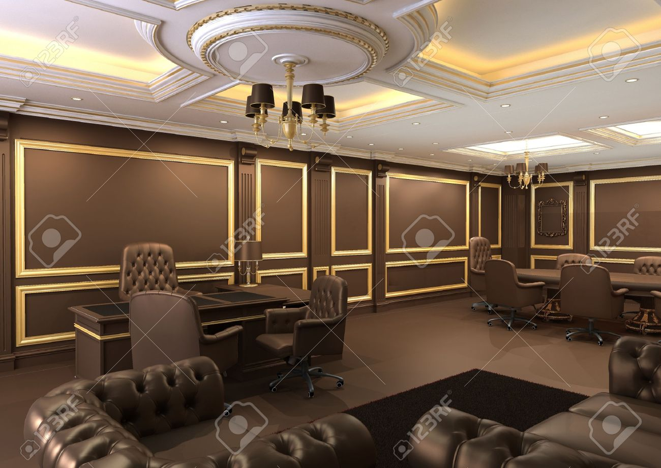 pics luxury office. Interior Office Space, Royal Apartment With Luxury Furniture Stock Photo - 10523439 Pics