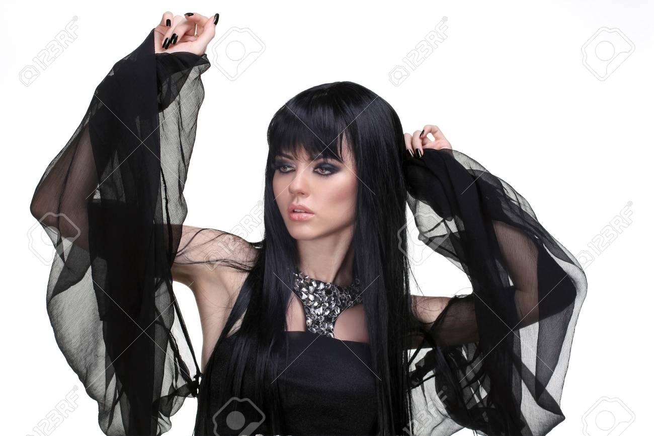 Beautiful woman with evening make-up. Jewelry and Beauty. Fashion photo Stock Photo - 14886693