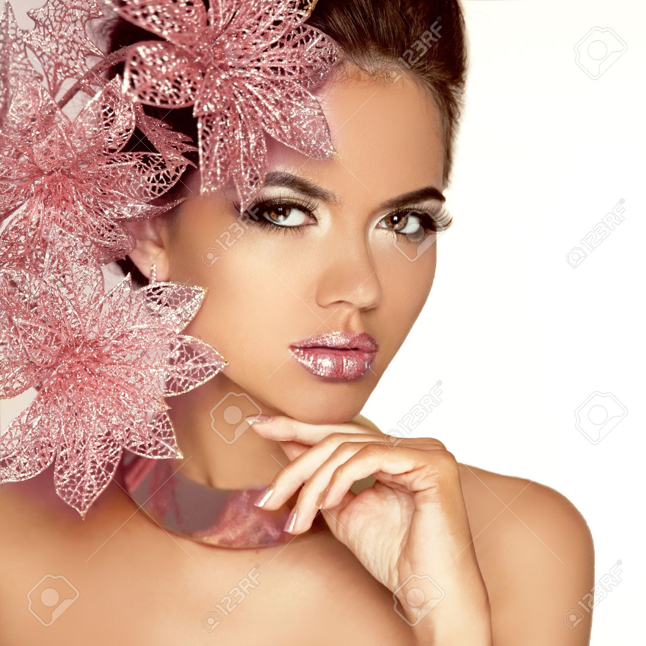Beauty Model Woman Face