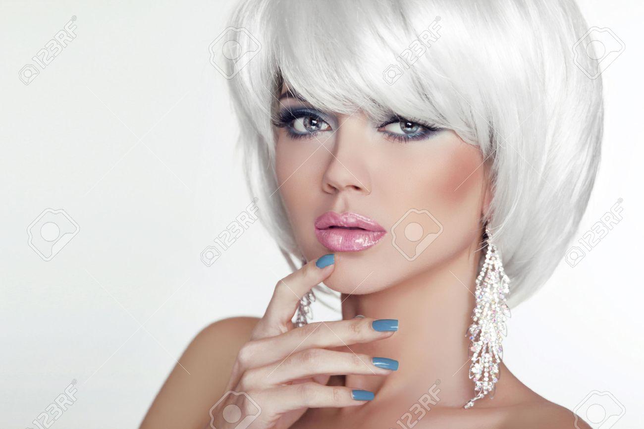 Cortes para el pelo blanco