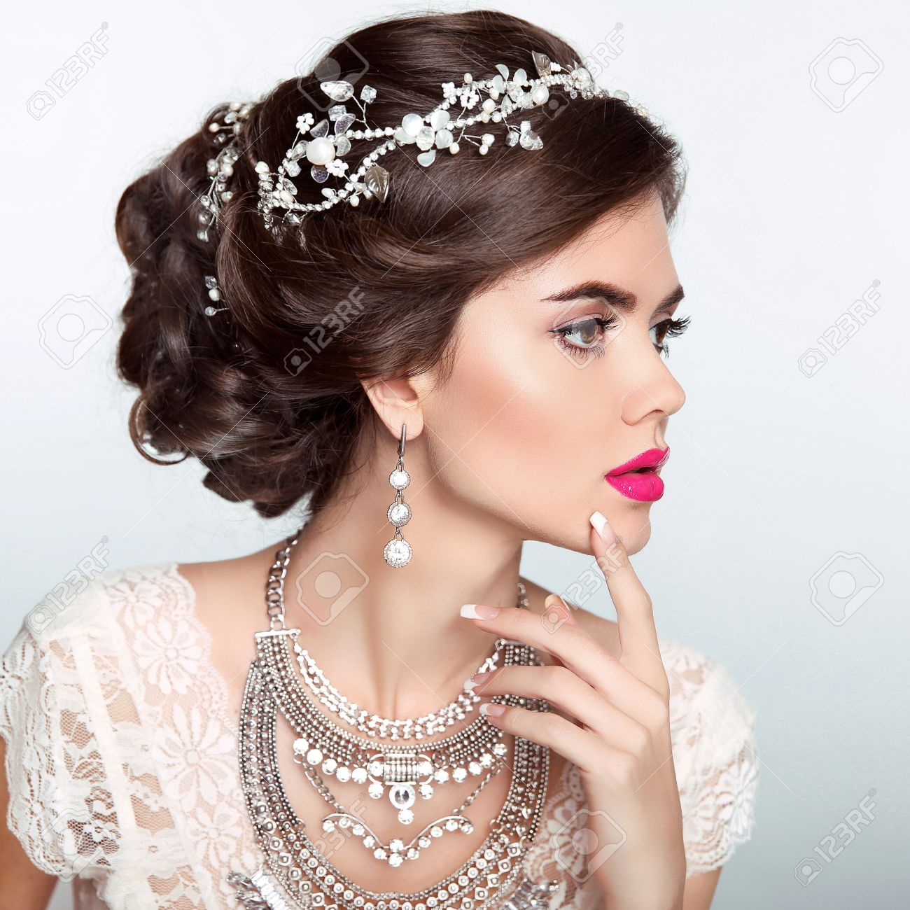 Modeles coiffure pour mariage