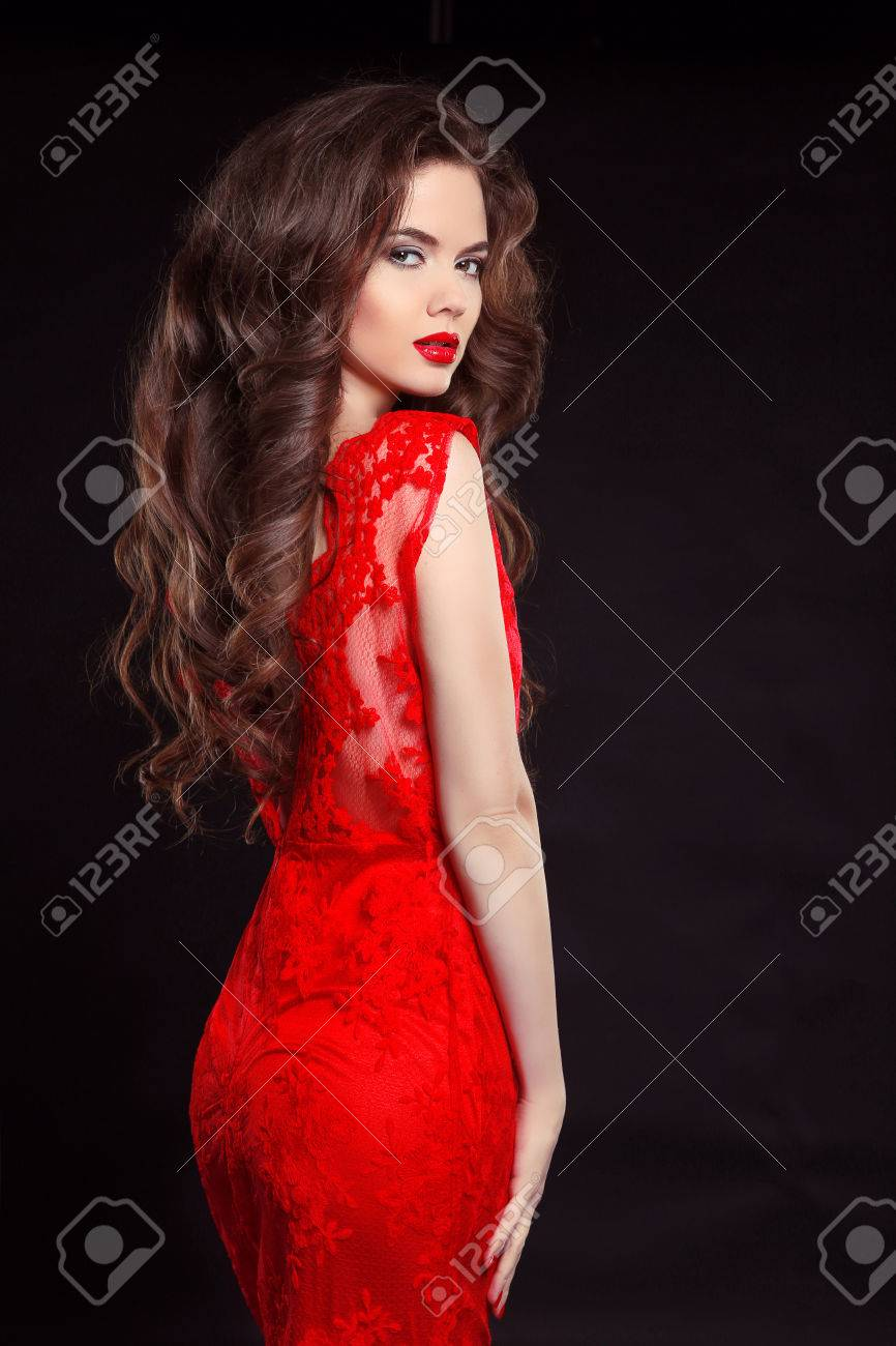 Mooie sexy vrouw