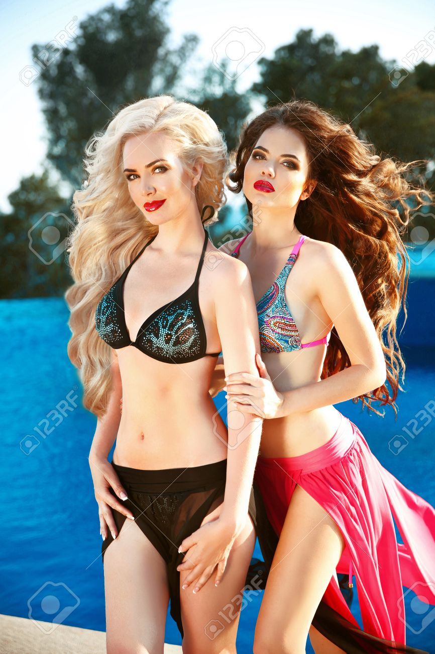 Models female swimsuit Women's Swimsuits,