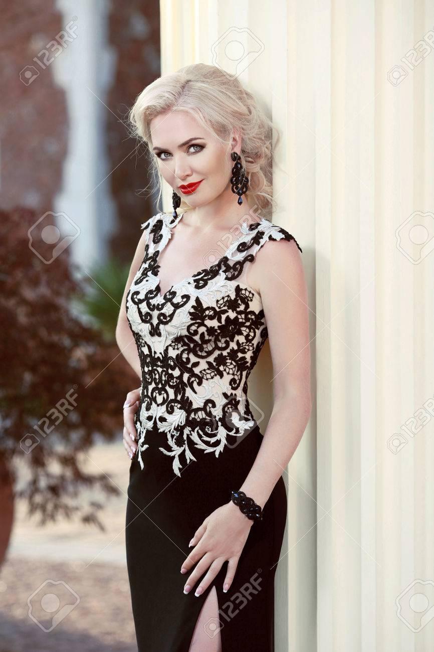 Modelos de vestidos elegantes para la noche
