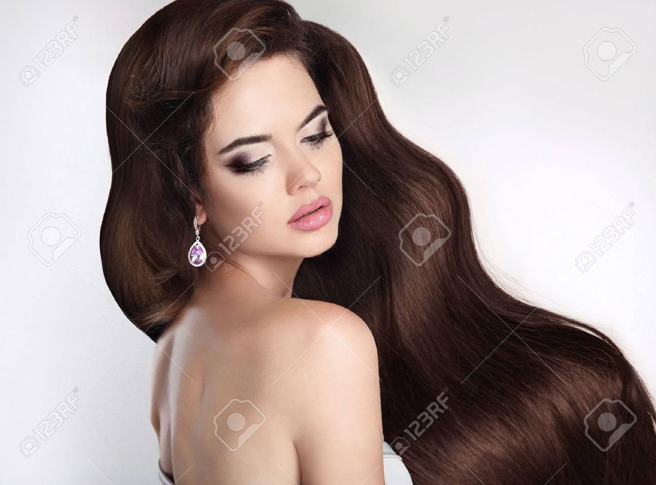 mädchen lange haare
