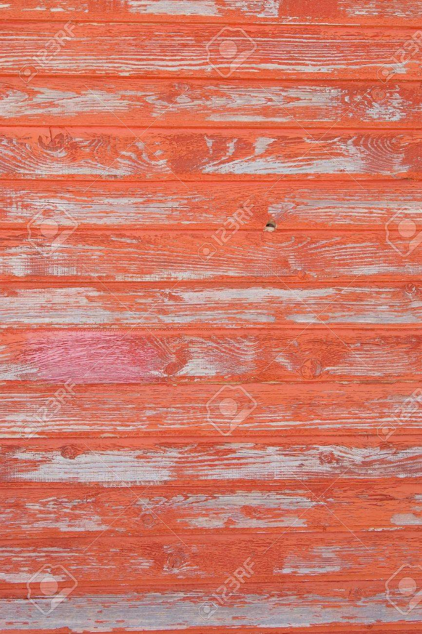 red striped wooden with grunge paint, textured surface Stock Photo - 7670619