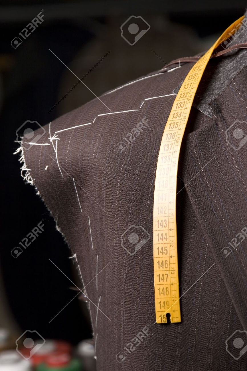 detail of tailors mannequin a Work in progres Stock Photo - 11985098