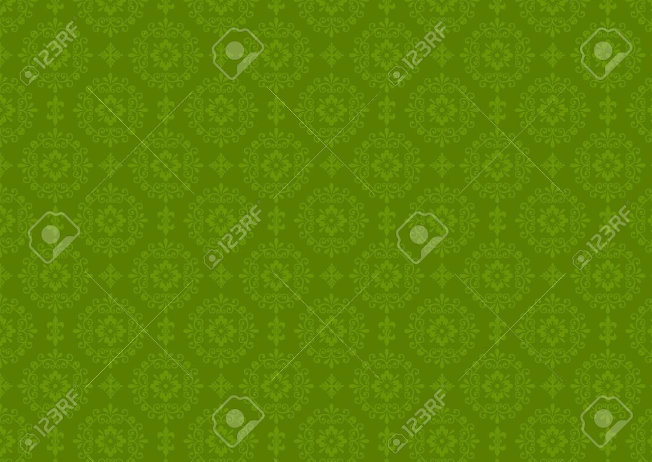 Damask seamless retro wallpape pattern Stock Photo - 7851872
