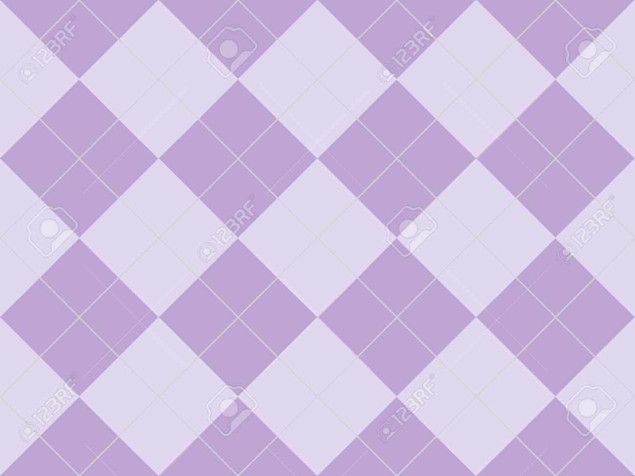 Seamless argyle pattern with purple rhombuses Stock Photo - 8801994