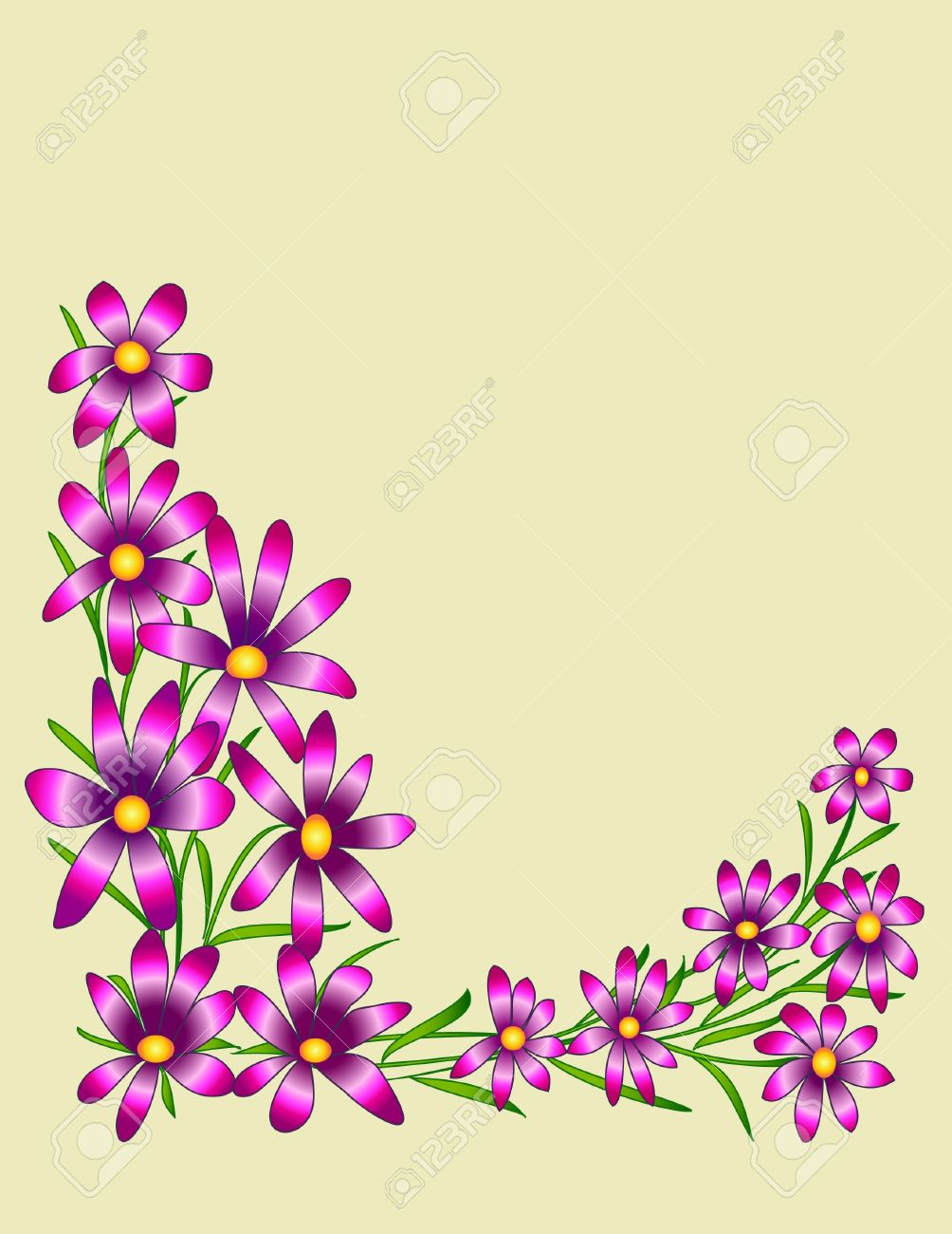 Beautiful Designs floral designs on a beautiful background royalty free cliparts