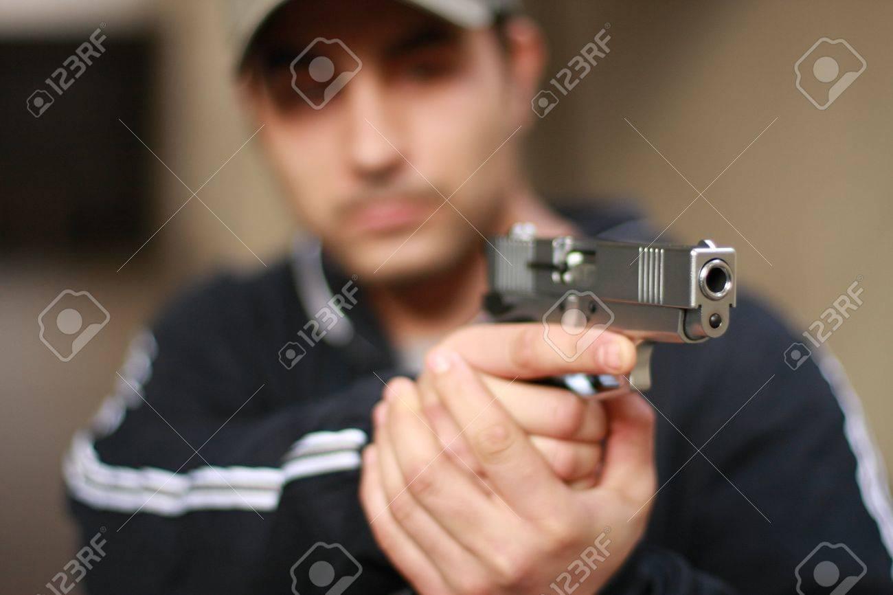 gun Stock Photo - 3880811