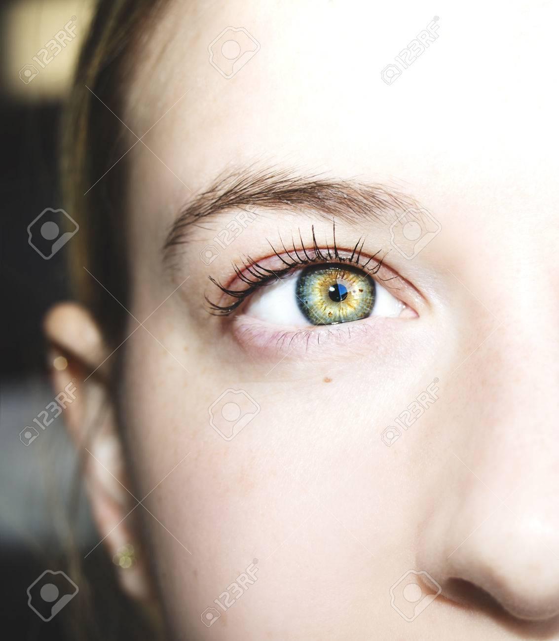 Blick auf die AugenKreationist liegt Kohlenstoffdatierung