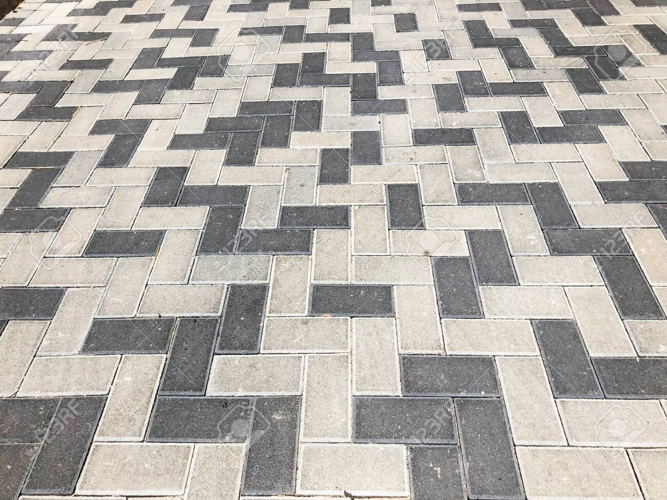 Gray Tiles Granite Floor Background Pavement Tiles Outdoor Urban Stock Photo Picture And Royalty Free Image Image 134395520