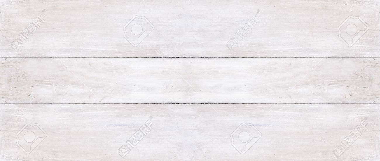 Three white wooden boards background - 39282473