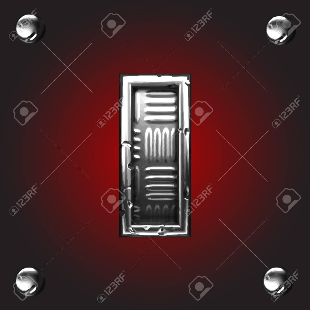 Metal figure Stock Vector - 16056033