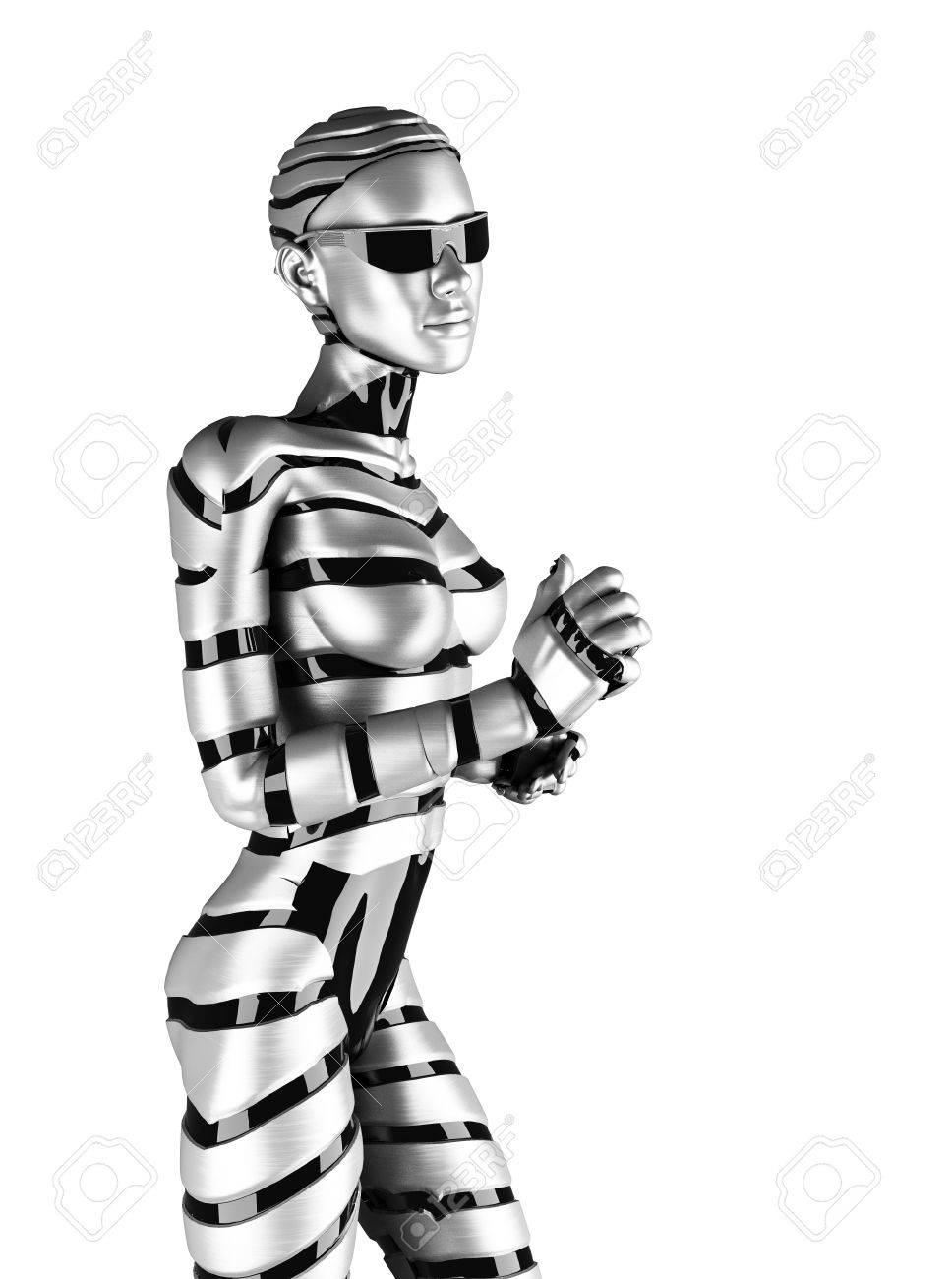 робот женщина фото