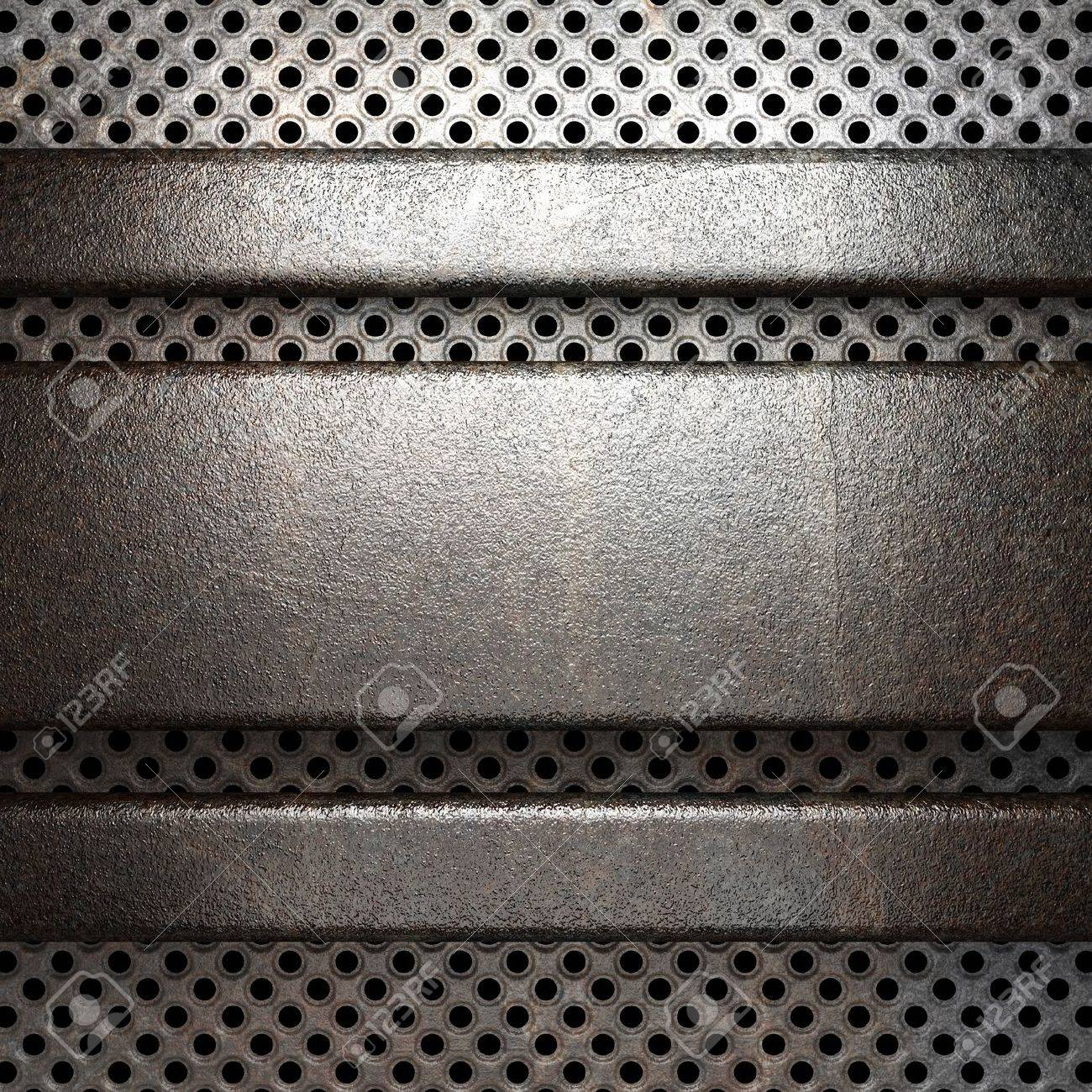 metal background Stock Photo - 19607749