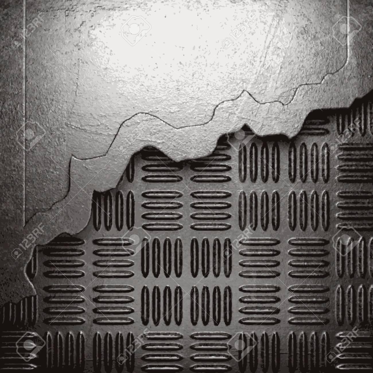 metal background Stock Vector - 21054248