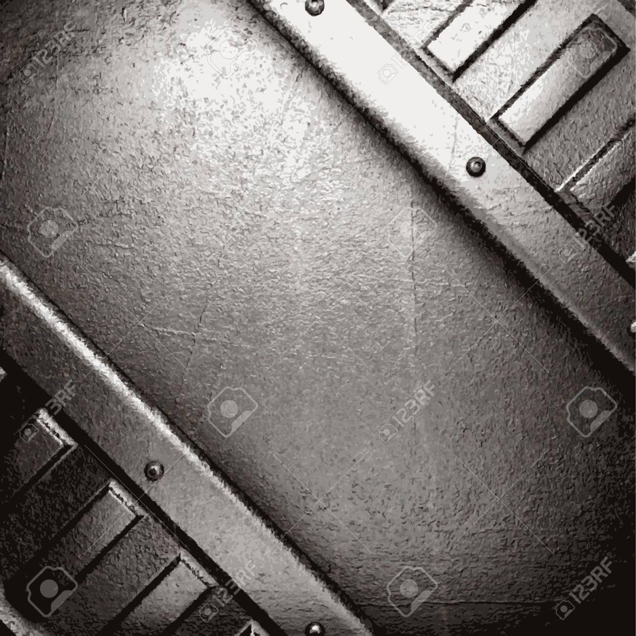 metal background Stock Vector - 21078168