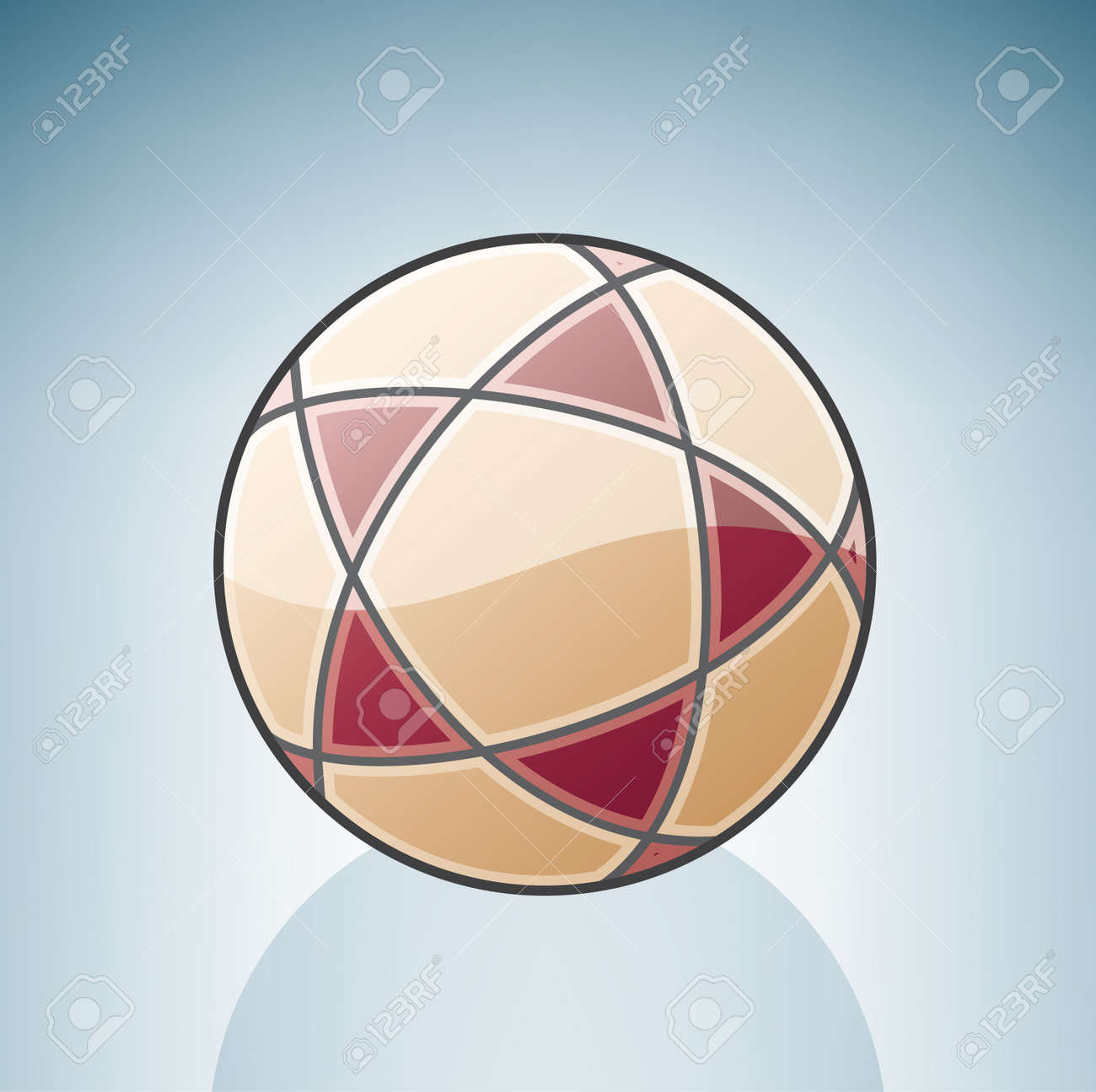 Volleyball Ball Stock Vector - 7337088