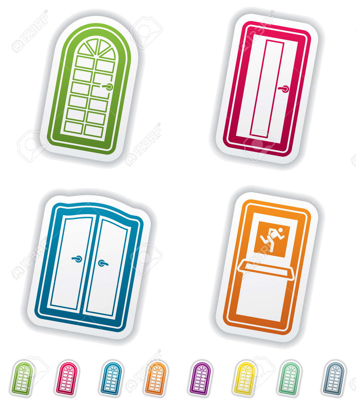 House related Objects Stock Vector - 12954190