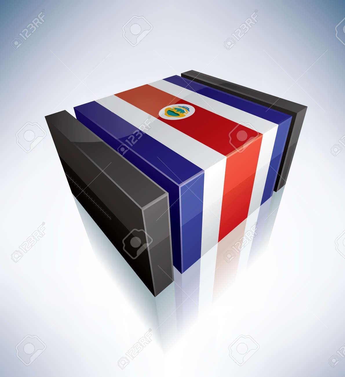 Republic of Costa Rica Stock Vector - 16158181