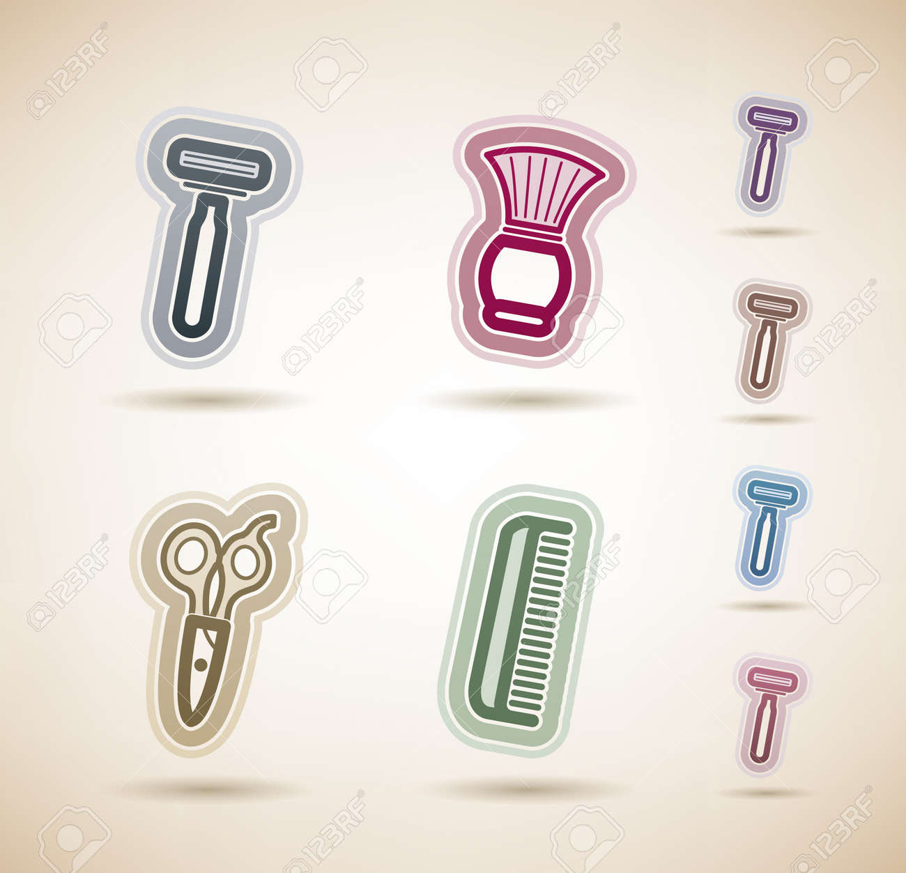 Bathroom Utensils Royalty Free Cliparts Vectors And Stock