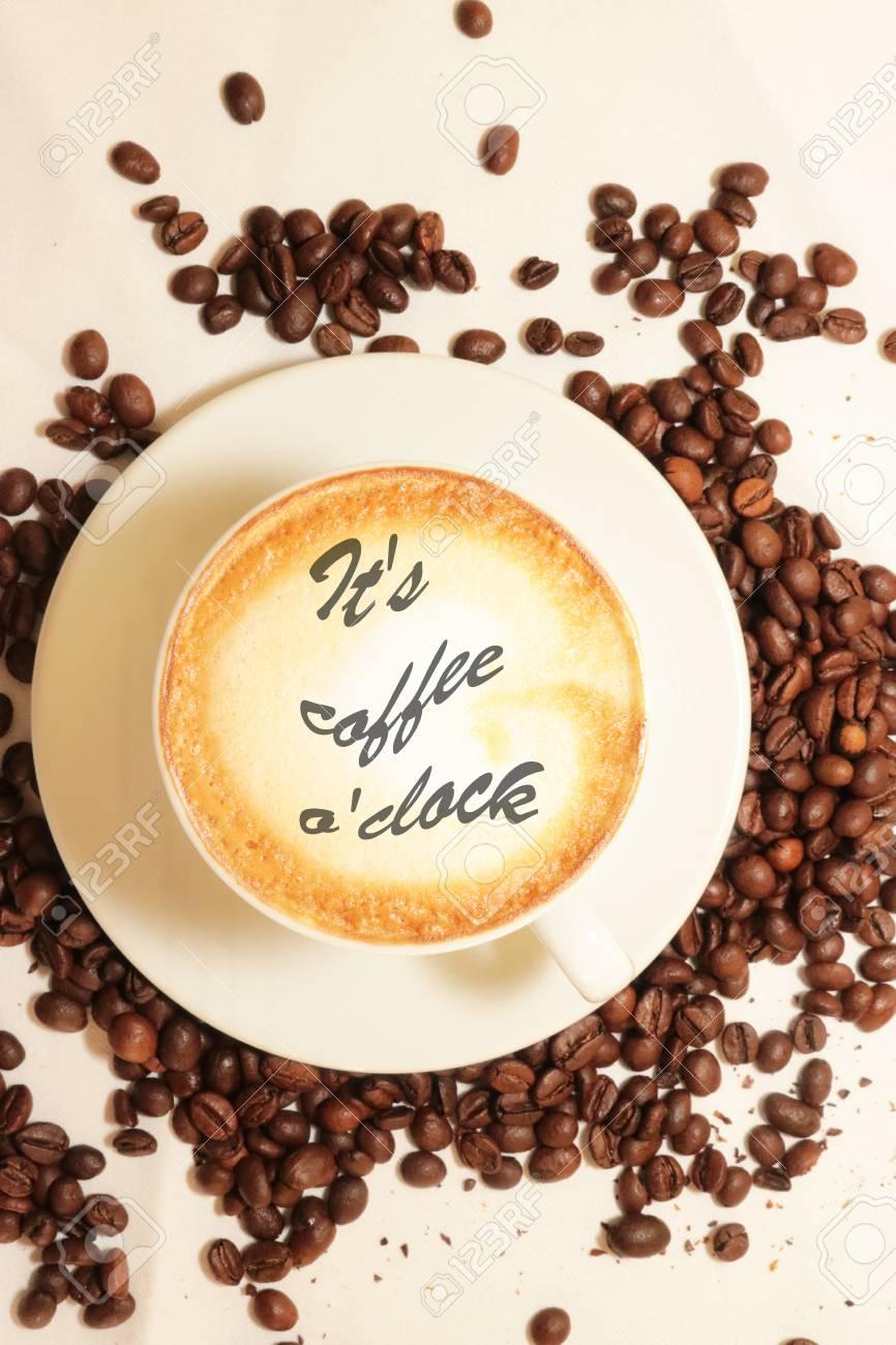 Tasse De Café Tasse Espressoo Arôme Caféine Chaud C Est Café Regarder J Aime Café Bonjour Les Gens Boivent Du Café