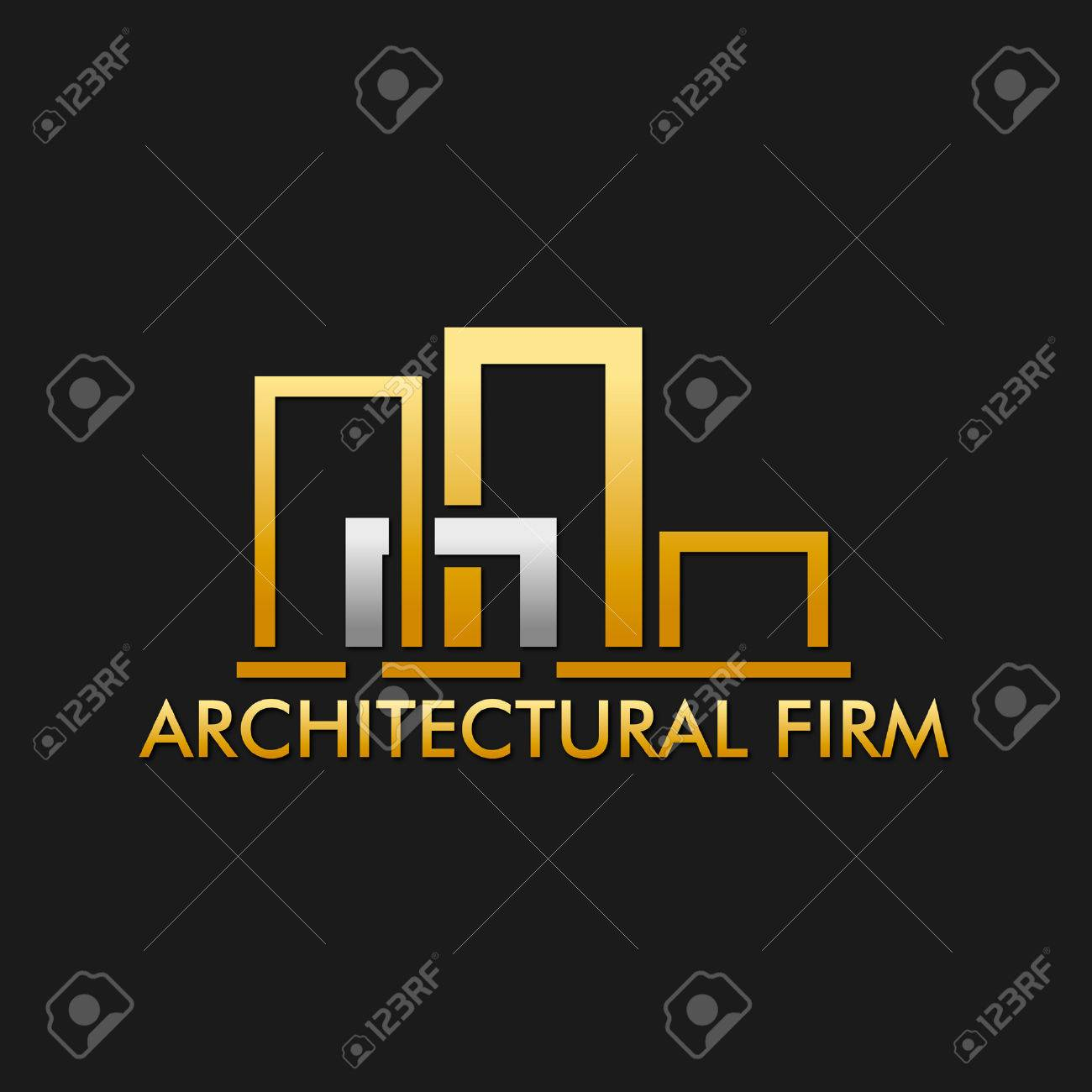 architectural design firm logo royalty free cliparts, vectors, and