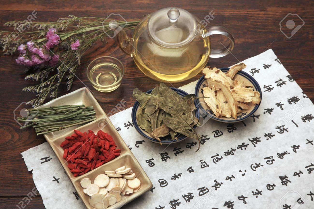 Chinese herbal medicine - 41112790