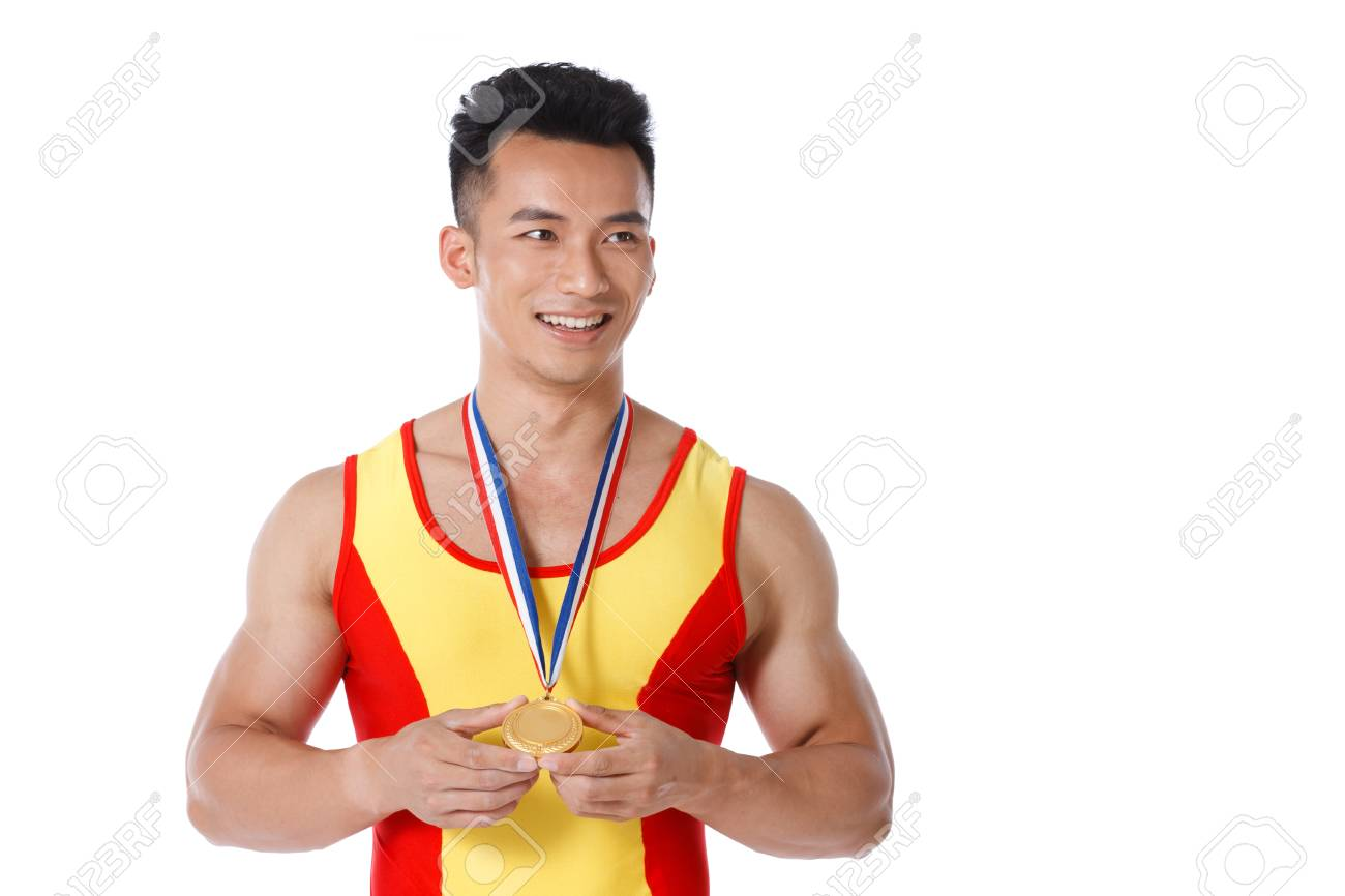 A shot of sport player and isolated on white Stock Photo - 22483726