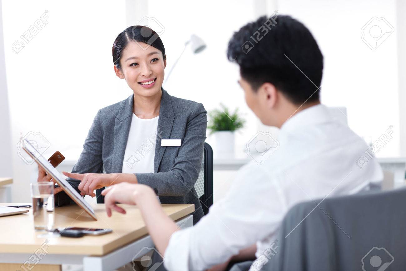 Young business people Stock Photo - 34602349