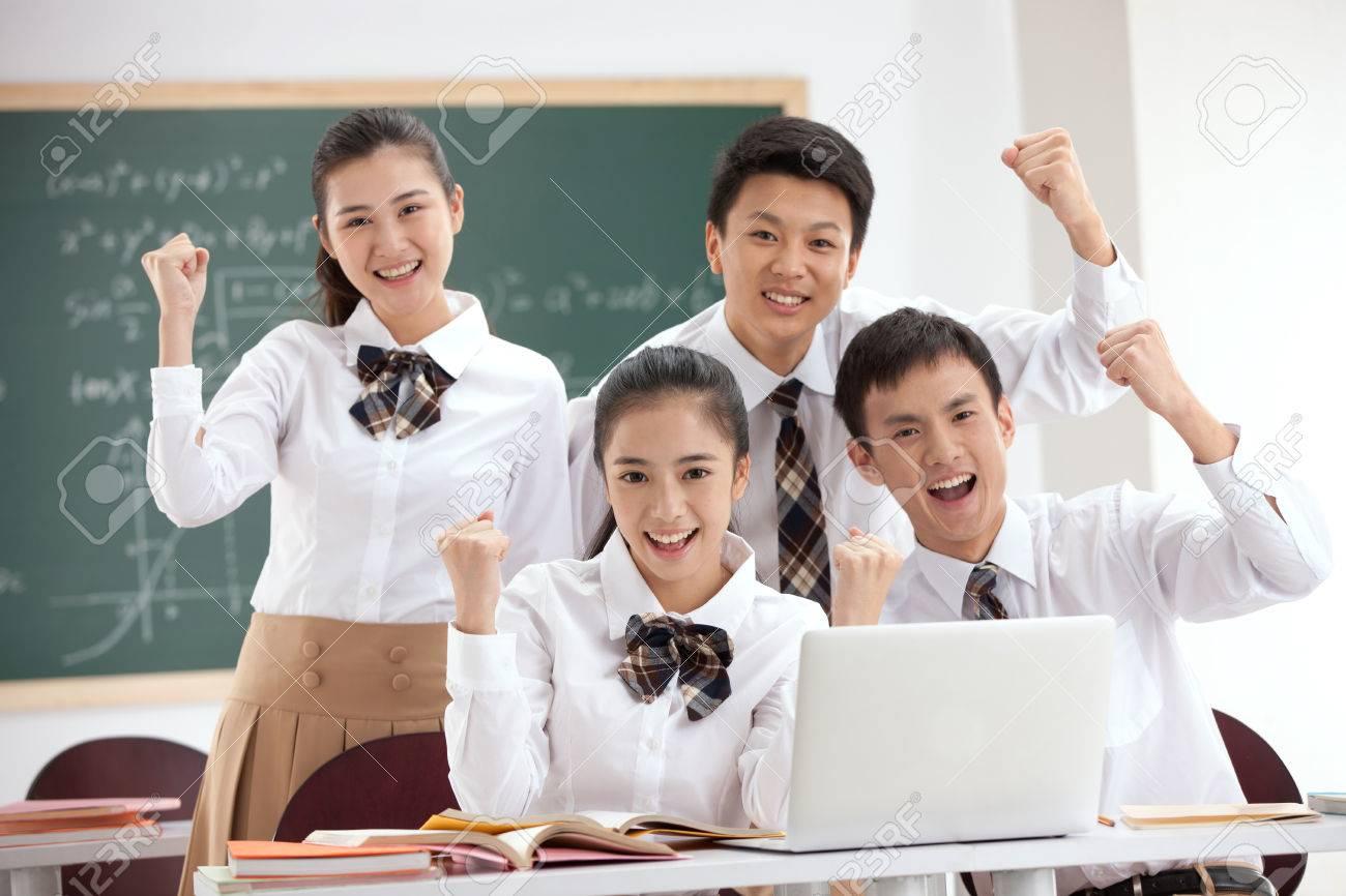 High school students Stock Photo - 34845851