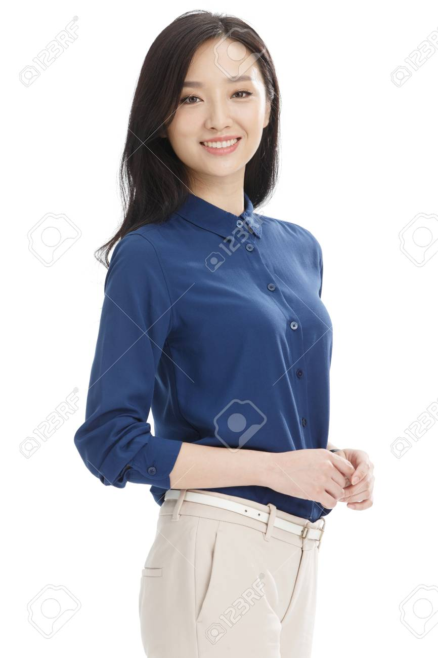 Young business woman - 57220430