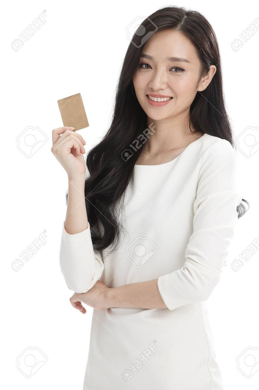 Young business woman - 57251753