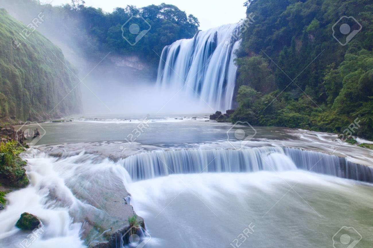 Huangguoshu Waterall in Guizhou Province - 81041681