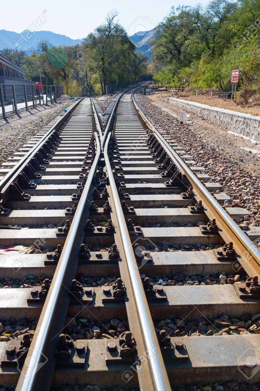 railway track - 153412238
