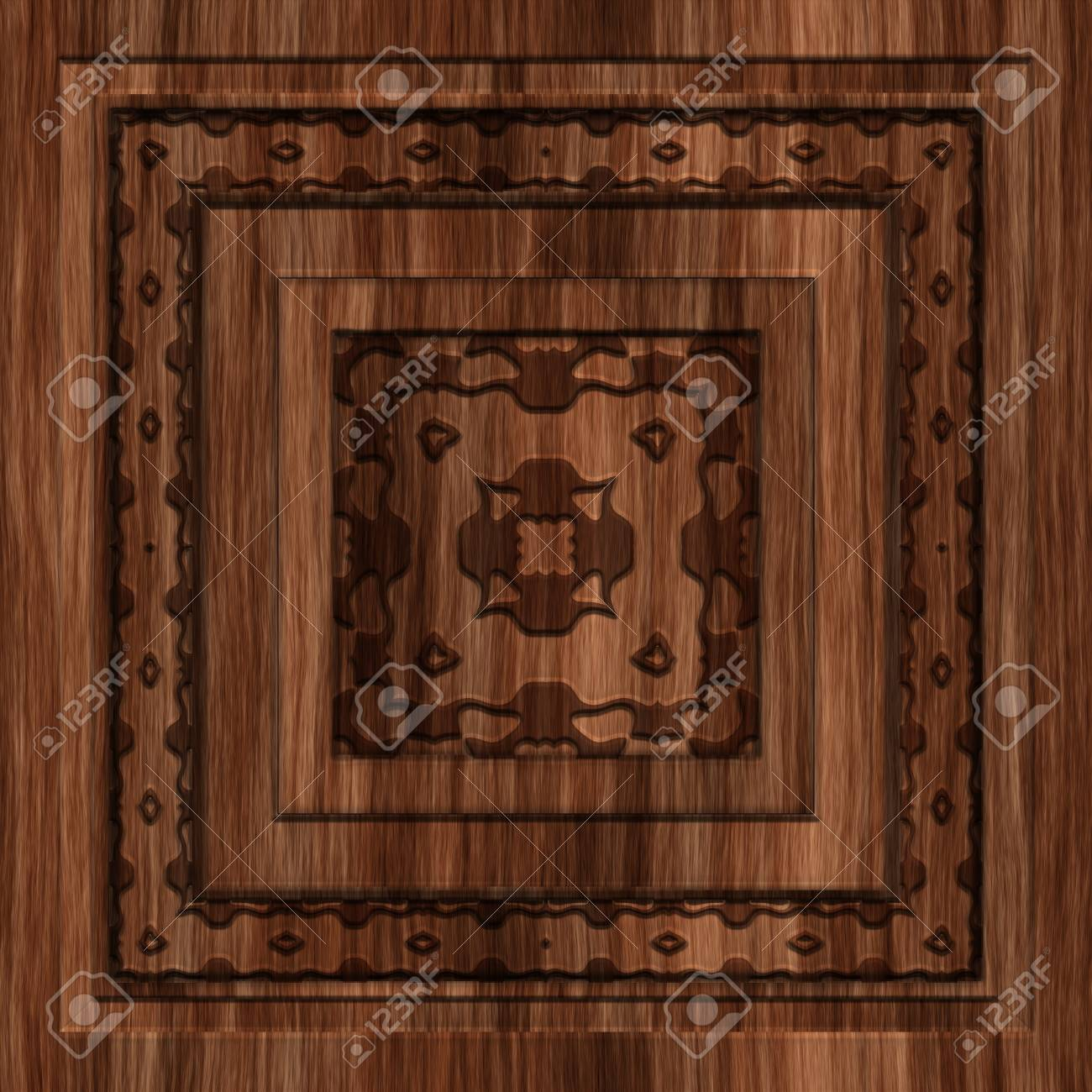 Decorating Walls With Wood Paneling from previews.123rf.com