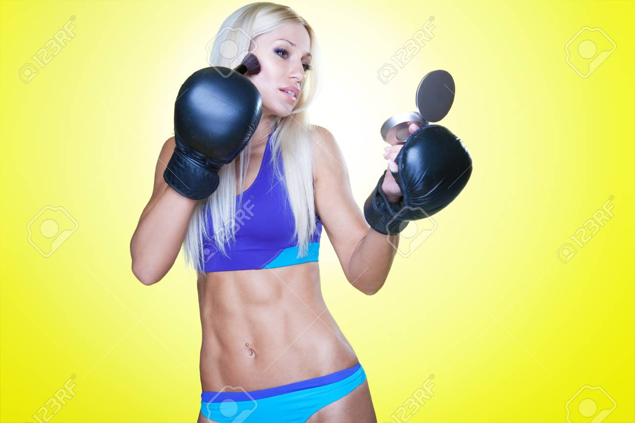 Sport and makeup! Stock Photo - 11095034
